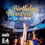 E4 Berlin One Night in Berlin // The Big Birthday Blowout