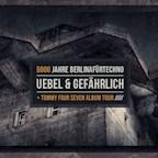 Uebel&Gefährlich Hamburg 5000 Jahre BerlinaFürTechno w/ Tommy Four Seven, Jan Oberlaender