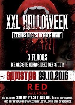 Red Ballroom Berlin XXL Halloween - Berlins größte Horror Nacht - Ab 16 Jahren