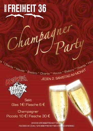 Große Freiheit 36 13.02.2016 Champagner Party