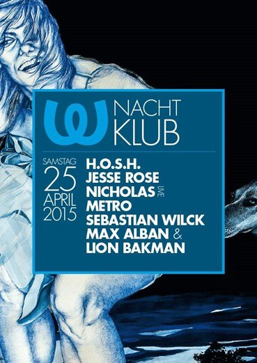 Watergate 25.04.2015 Nachtklub