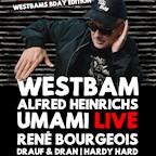 Astra Kulturhaus Berlin The risky sets / Westbam, Umami, Alfred Heinrichs uvm