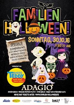 Adagio Berlin Das große Familien Halloween präs. von Radio Teddy