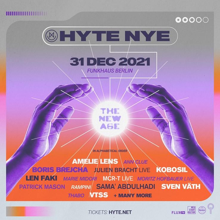 Funkhaus Berlin Eventflyer #1 vom 31.12.2021