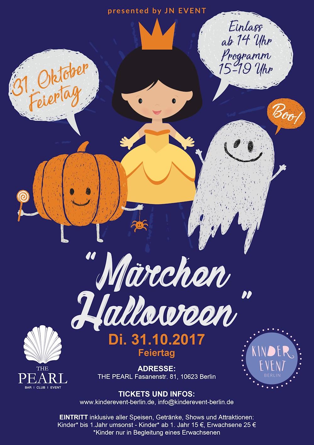 The Pearl Berlin Märchen Halloween
