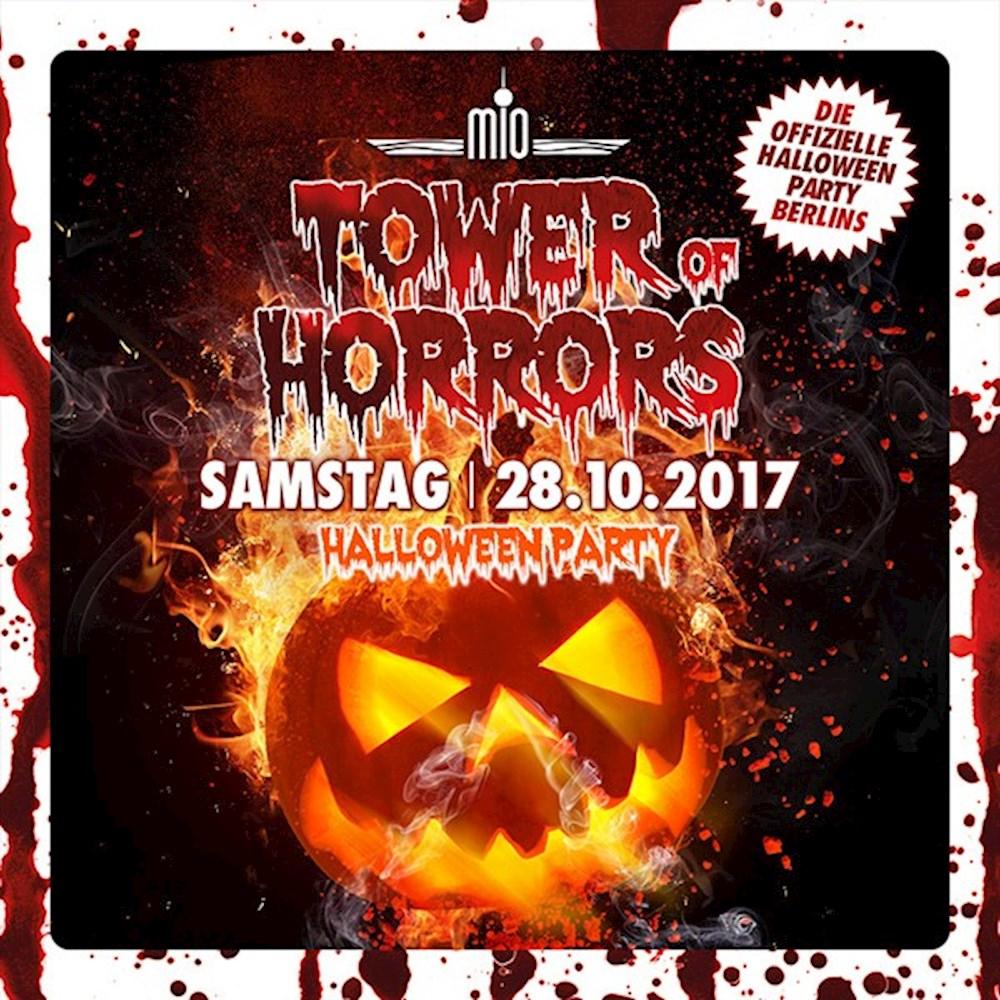 Mio Berlin 7.Tower of Horrors - Die Offizielle Halloween Party Berlins im Mio Club