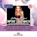 Empire Berlin Empire Club Nacht | Birthday Club