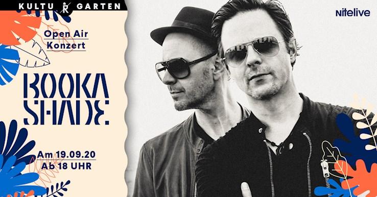 Ritter Butzke 19.09.2020 Booka Shade (Live) Open Air @Kulturgarten