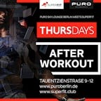 Puro Berlin Puro Thursdays meets SuperFit AfterWorkout Edition