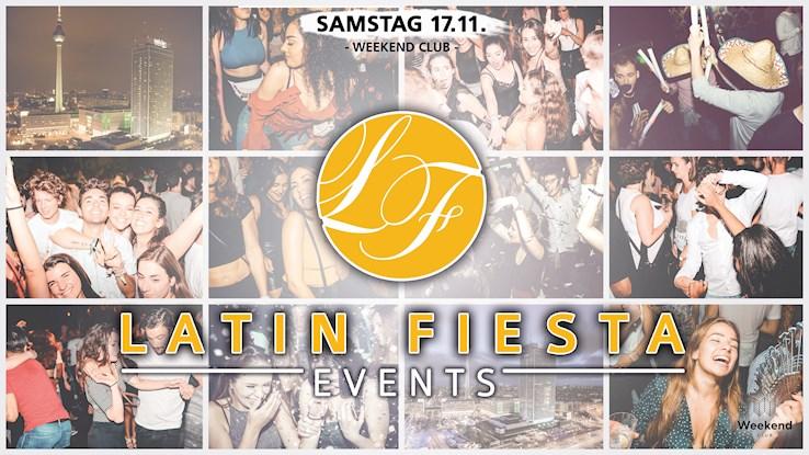 Club Weekend Berlin Eventflyer #1 vom 17.11.2018