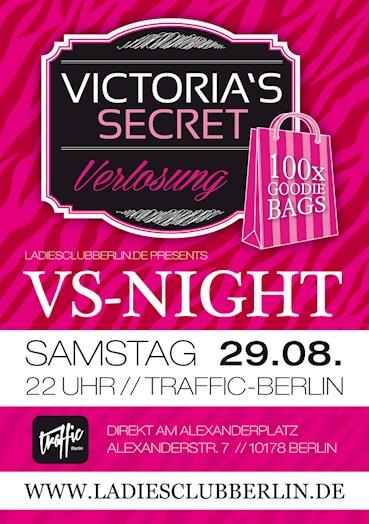 Traffic 29.08.2015 Victoria's Secret Verlosung by Ladies Club Berlin