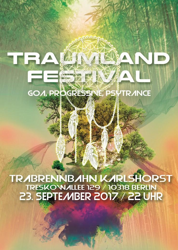 Trabrennbahn Karlshorst 23.09.2017 Traumland Festival