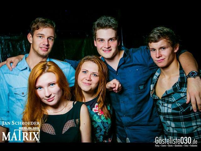 https://www.gaesteliste030.de/Partyfoto #102 Matrix Berlin vom 20.08.2013