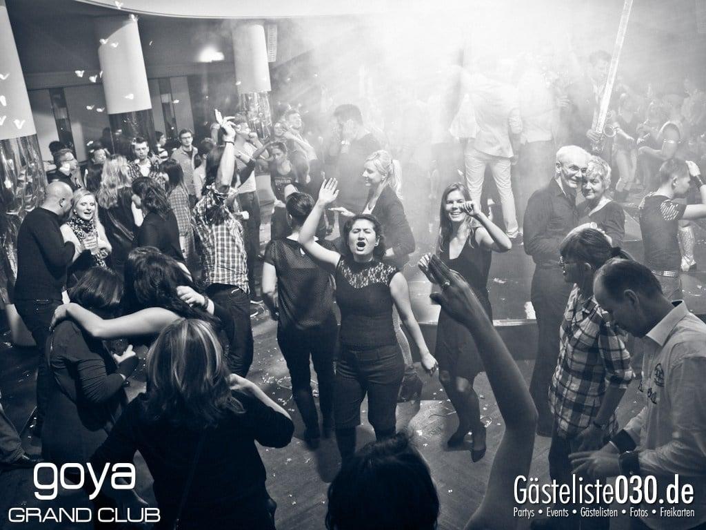 Partyfoto #76 Goya 24.11.2012 Goya 54 Opening