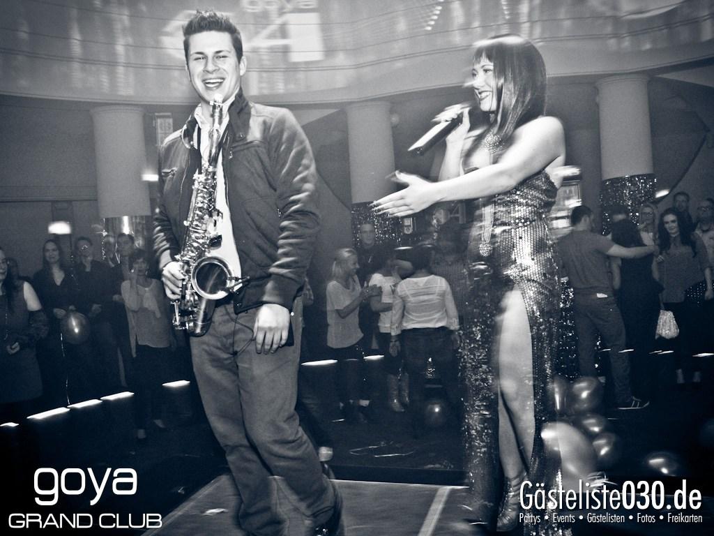 Partyfoto #49 Goya 24.11.2012 Goya 54 Opening