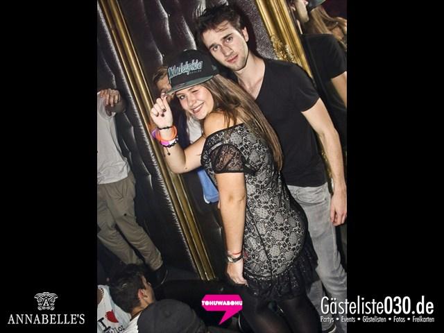 https://www.gaesteliste030.de/Partyfoto #158 Annabelle's Berlin vom 09.11.2012