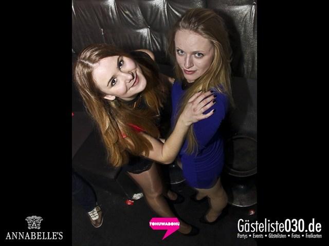 https://www.gaesteliste030.de/Partyfoto #156 Annabelle's Berlin vom 09.11.2012