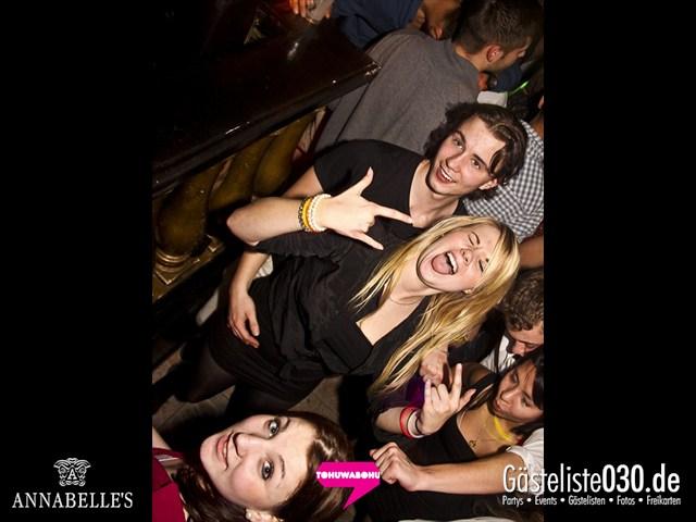 https://www.gaesteliste030.de/Partyfoto #144 Annabelle's Berlin vom 09.11.2012
