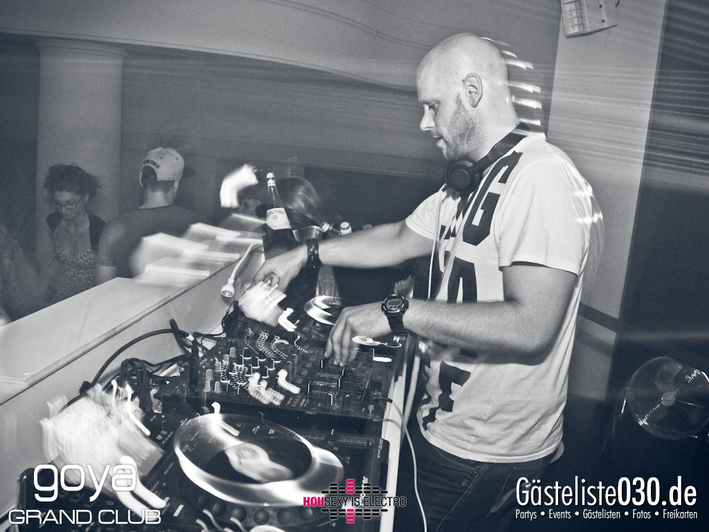 "Partyfoto #50 Goya 23.11.2012 Housexy Is Electro ""The Big Relaunch 2012"""