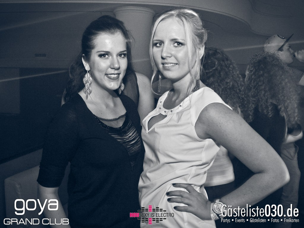 "Partyfoto #49 Goya 23.11.2012 Housexy Is Electro ""The Big Relaunch 2012"""
