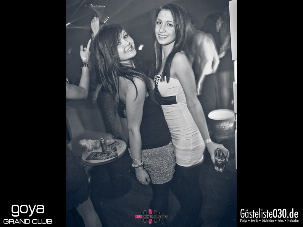 "Partyfoto #75 Goya 23.11.2012 Housexy Is Electro ""The Big Relaunch 2012"""