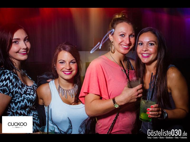Partyfoto #1 Cuckoo Berlin Berlin vom 27.09.2013