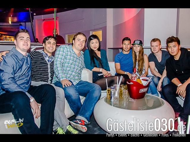 Partypics E4 05.10.2013 Berlin Gone Wild - Disco Rain