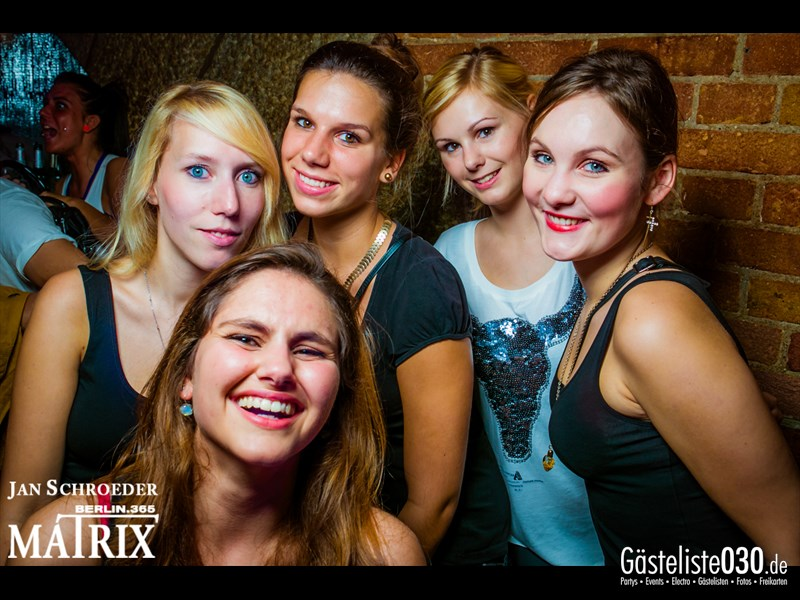https://www.gaesteliste030.de/Partyfoto #166 Matrix Berlin vom 25.10.2013