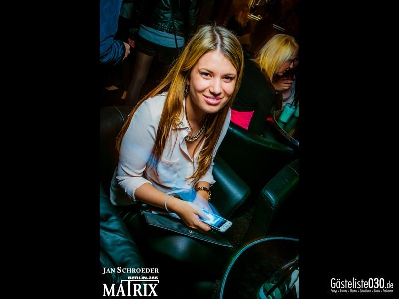https://www.gaesteliste030.de/Partyfoto #6 Matrix Berlin vom 25.10.2013