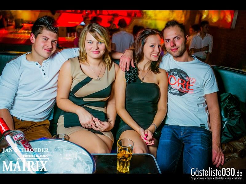 https://www.gaesteliste030.de/Partyfoto #106 Matrix Berlin vom 19.10.2013