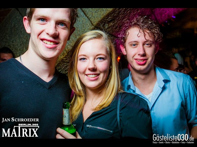 https://www.gaesteliste030.de/Partyfoto #58 Matrix Berlin vom 19.10.2013