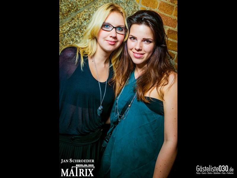 https://www.gaesteliste030.de/Partyfoto #63 Matrix Berlin vom 19.10.2013