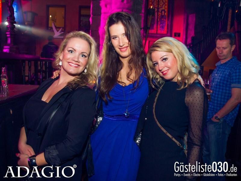 https://www.gaesteliste030.de/Partyfoto #106 Adagio Berlin vom 11.10.2013