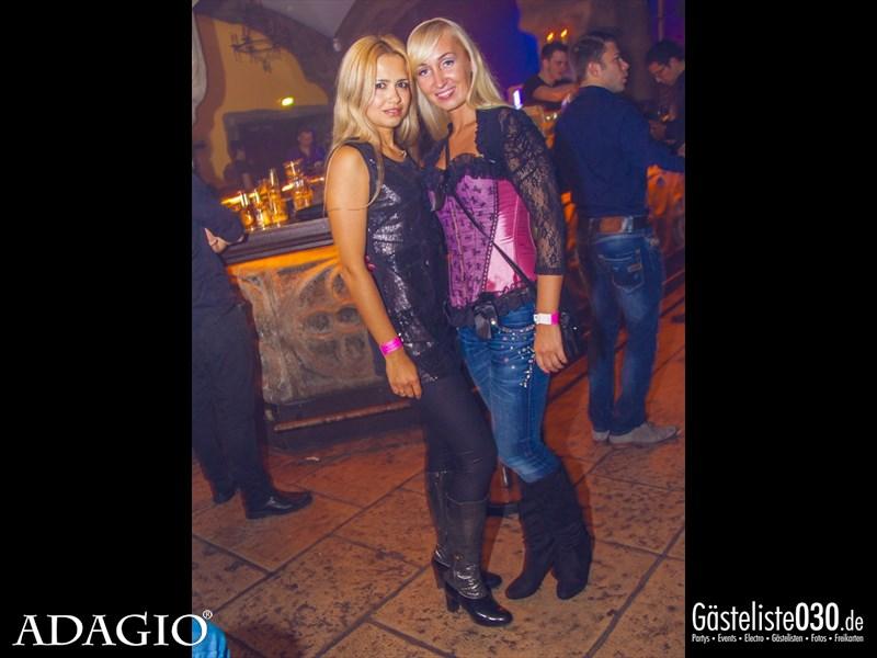 https://www.gaesteliste030.de/Partyfoto #69 Adagio Berlin vom 11.10.2013