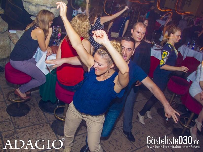 https://www.gaesteliste030.de/Partyfoto #62 Adagio Berlin vom 11.10.2013