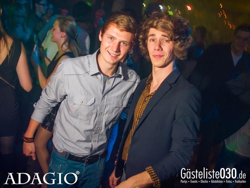 https://www.gaesteliste030.de/Partyfoto #121 Adagio Berlin vom 11.10.2013