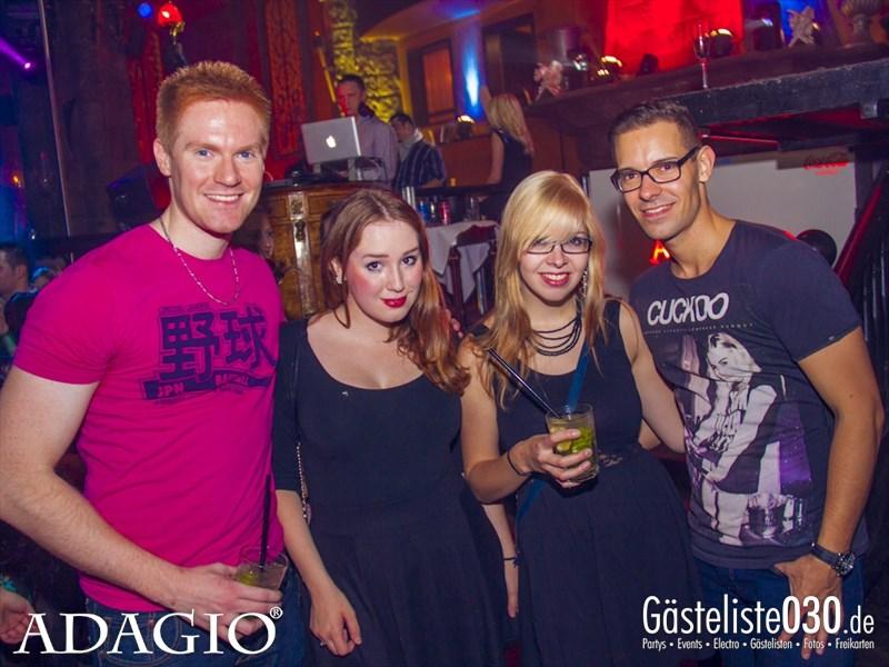 https://www.gaesteliste030.de/Partyfoto #61 Adagio Berlin vom 11.10.2013