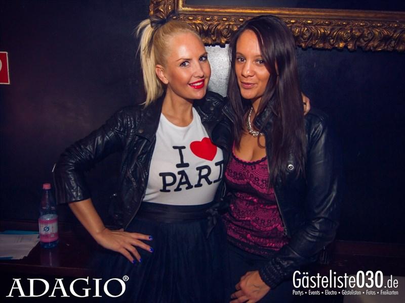 https://www.gaesteliste030.de/Partyfoto #155 Adagio Berlin vom 11.10.2013