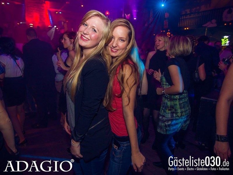 https://www.gaesteliste030.de/Partyfoto #157 Adagio Berlin vom 11.10.2013