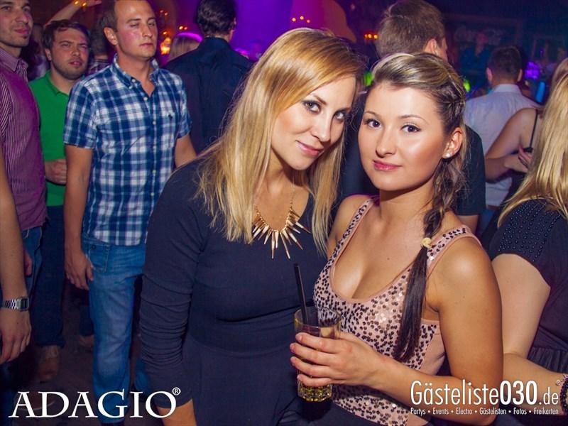 https://www.gaesteliste030.de/Partyfoto #25 Adagio Berlin vom 11.10.2013