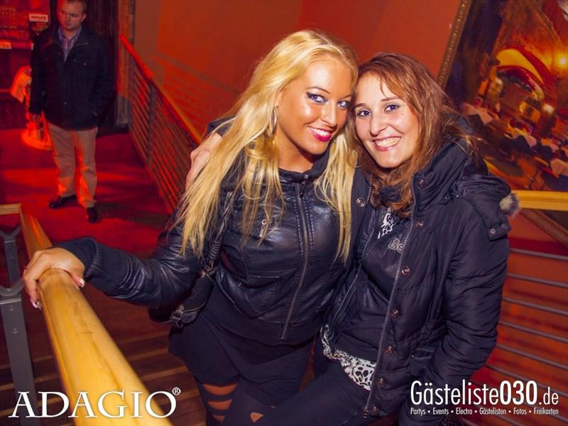 https://www.gaesteliste030.de/Partyfoto #98 Adagio Berlin vom 11.10.2013