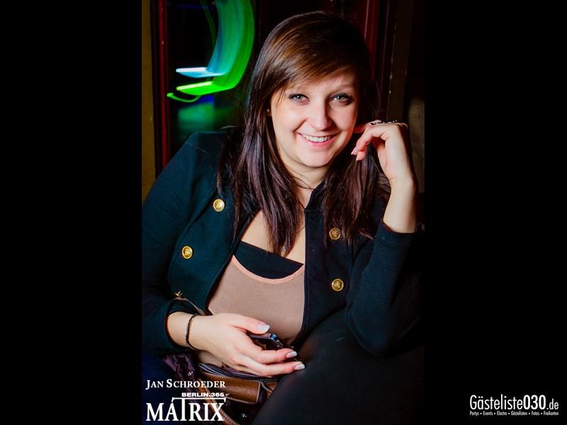 https://www.gaesteliste030.de/Partyfoto #105 Matrix Berlin vom 18.10.2013