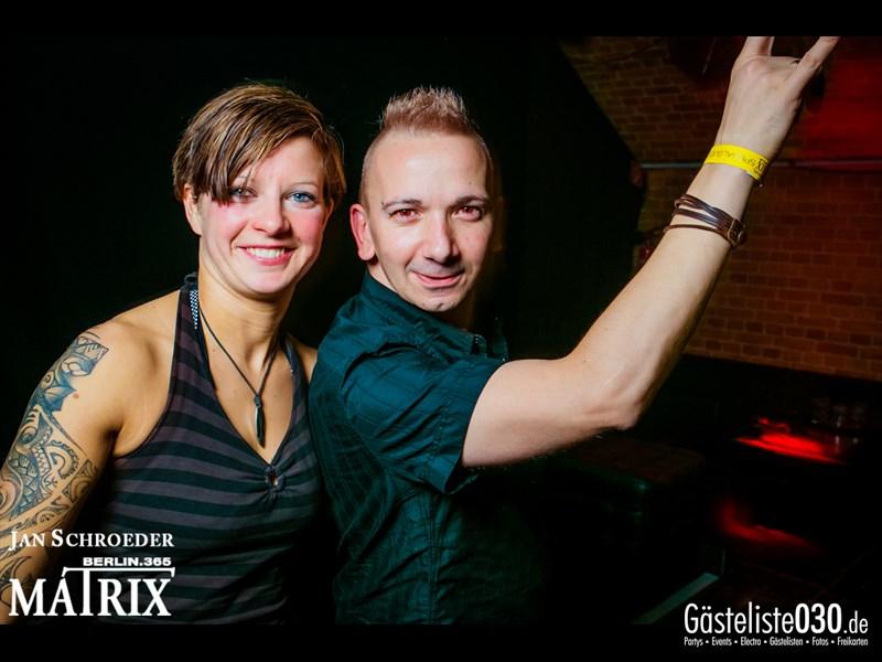 https://www.gaesteliste030.de/Partyfoto #133 Matrix Berlin vom 18.10.2013