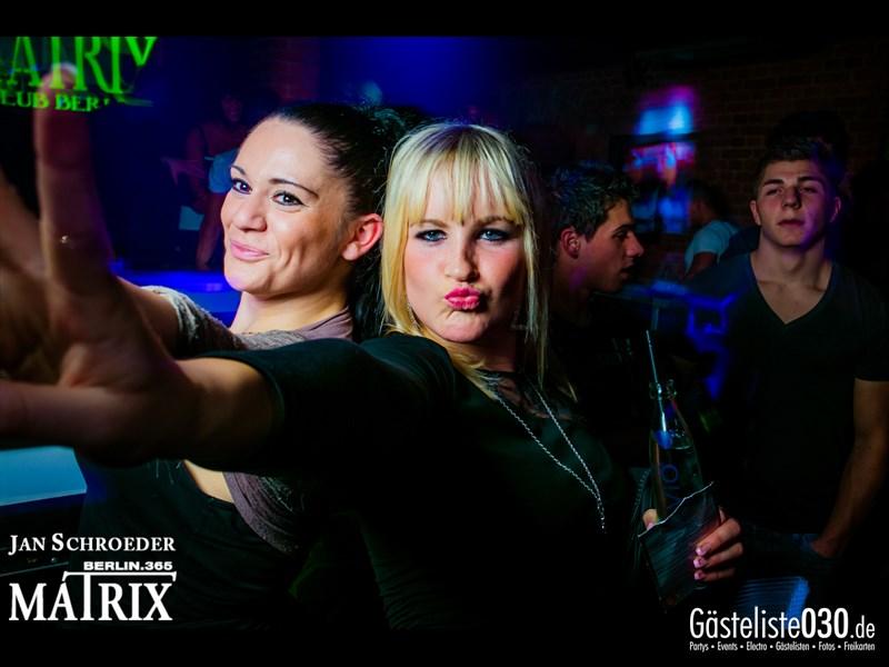 https://www.gaesteliste030.de/Partyfoto #96 Matrix Berlin vom 18.10.2013