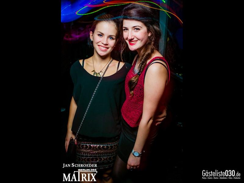 https://www.gaesteliste030.de/Partyfoto #25 Matrix Berlin vom 18.10.2013