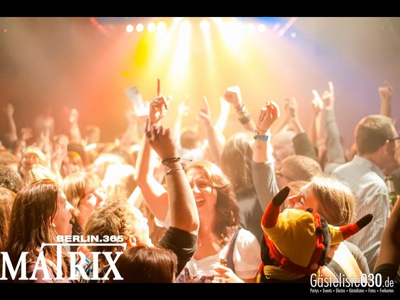 https://www.gaesteliste030.de/Partyfoto #132 Matrix Berlin vom 11.10.2013