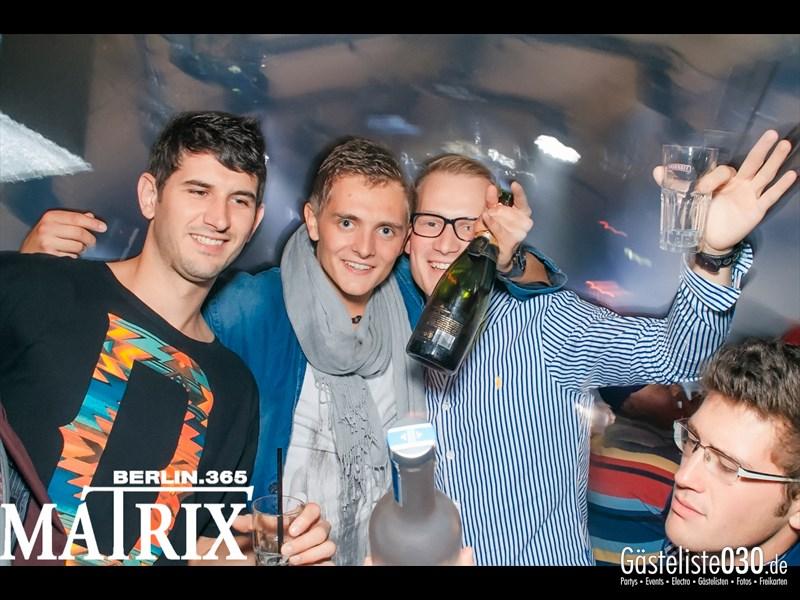 https://www.gaesteliste030.de/Partyfoto #39 Matrix Berlin vom 11.10.2013