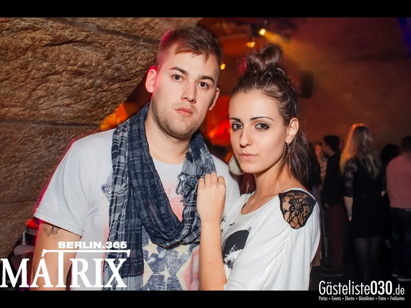 https://www.gaesteliste030.de/Partyfoto #116 Matrix Berlin vom 11.10.2013