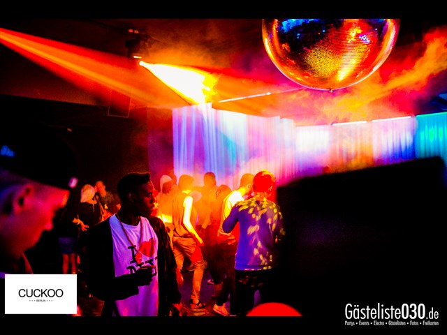 Partypics Cuckoo Berlin 05.10.2013 When Love Takes Over