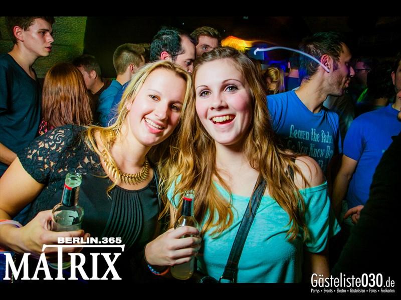 https://www.gaesteliste030.de/Partyfoto #89 Matrix Berlin vom 17.10.2013